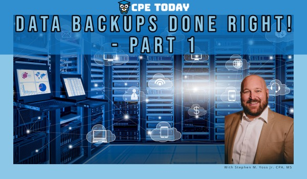 Data Backups Done Right