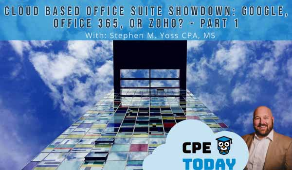 Cloud Based Office Suite Showdown Google Workspace, Microsoft 365 or Zoho - Part 1