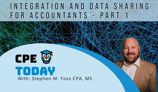 Integration and Data Sharing for Accountants - Part 1